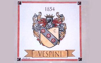 Araldica - Stemma della Famiglia Vespini