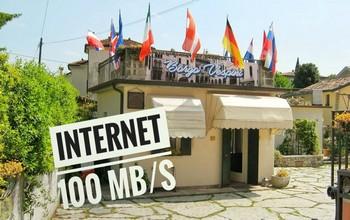Connessione Wi-Fi Gratuita a 100 MB/s