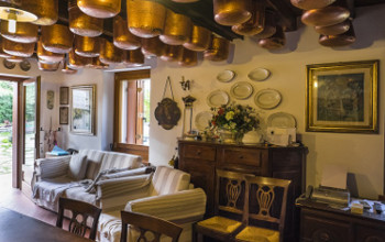 Reception del B&B a Vittorio Veneto